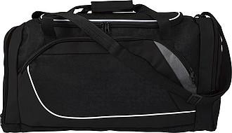 GERIT Sportovní taška s místem na boty, černá