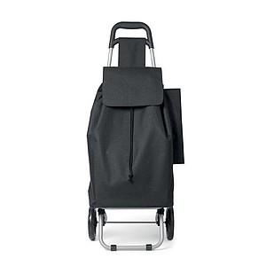 Nákupní taška s kolečky o obsahu 25 litrů, vyrobená z 600D p