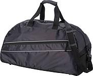 KEIRA Celočerná sportovní taška s přední kapsou