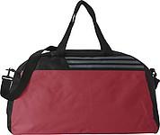 Sportovní taška černo červená