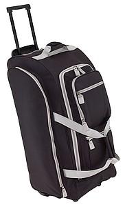 KARMENA Cestovní taška na kolečkách, černá