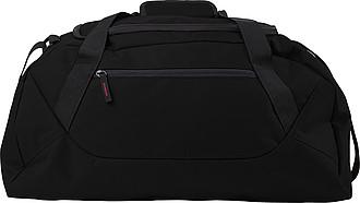 Sportovní taška z polyesteru, černá