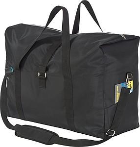 Cestovní taška, celá černá