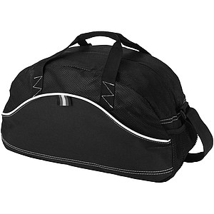 DOMINICANA Jednoduchá sportovní taška, černá