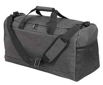 Pevná obdélníková sportovní taška, antracitová