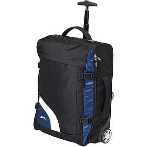 SION Sportovní taška na kolečkách Slazenger, černá, modrá