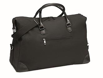 Plátěná taška na víkendový pobyt, černá