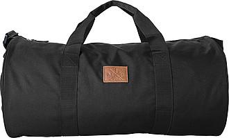 ASOMADA Cestovní taška z (600D) polyesteru, černá