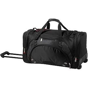 Luxusní cestovní taška na kolečkách, zn. Elleven, černá