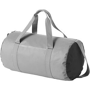 Oválná cestovní taška, šedá