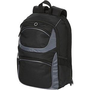 Batoh na laptop určený na cestování letadlem, černá