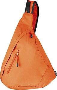 Batoh s pouzdrem na mobil, oranžová