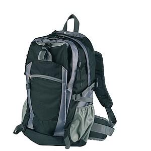SCHWARZWOLF MATTERHORN turistický batoh, černý papírová taška s potiskem