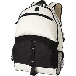 TEMOUR Výletní batoh z 600D polyesteru, šedá/černá