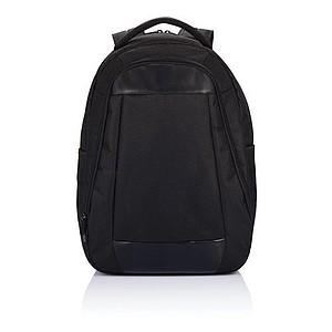 Batoh na notebook z 600D polyesteru, černá