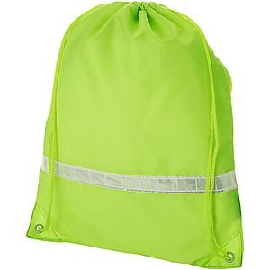 Plátěný batůžek, fluorescenční žlutá