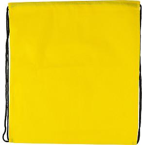 RUDOLF Ruksak se zdrhovací šňůrkou, žlutý