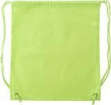 Ruksak se zdrhovací šňůrkou, polyester, zelená