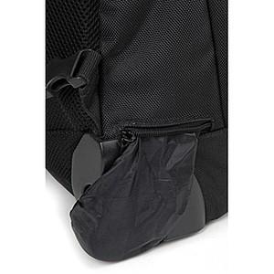 Batoh na kolečkách s uschovatelnými popruhy, černý