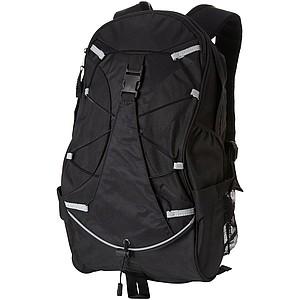 Batoh z 600D polyesteru, černá