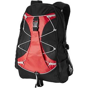 Batoh z 600D polyesteru, červená