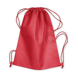 Klasický stahovací batůžek, červená