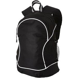 BRUCEK Klasický polyesterový batoh, černá