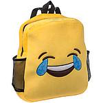 Plyšový batoh smajlík slzy