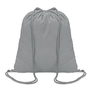 Stahovací vak, bavlna, šedý