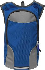Batoh pro cyklisty, šedo modrý