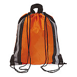 Batoh se šňurkami a reflexními prvky, oranžový