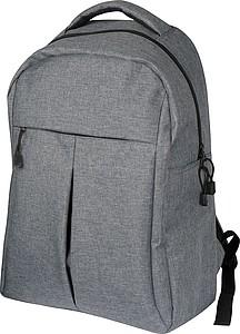 Šedý batoh s místem na notebook