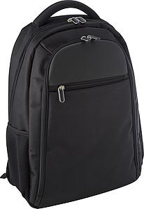 Polyesterový batoh s polstrovanou kapsou