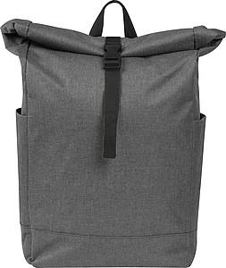 TARTUS Šedý batoh s černým detailem