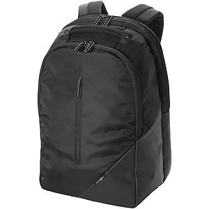 Batoh s malou přední kapsou na zip, černá