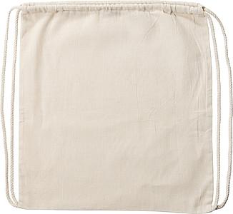 Bavlněný stahovací batoh