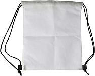 Stahovací batoh z netkané textilie s obrázkem na vymalování