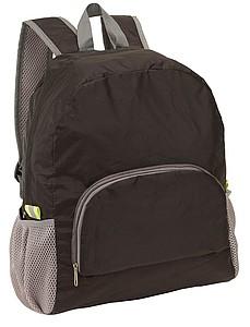 Batoh složitelný do malé kapsy, černý