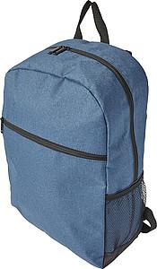 DEMPO Batoh s kapsou na zip, modrý