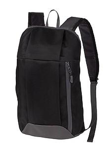FURICH Lehký batoh s kapsou na zip, černý