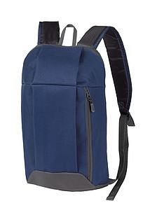 FURICH Lehký batoh s kapsou na zip, tmavě modrý