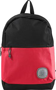Černo červený batoh