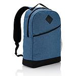 Batoh moderního střihu, polyester 600D, 18l, modrý