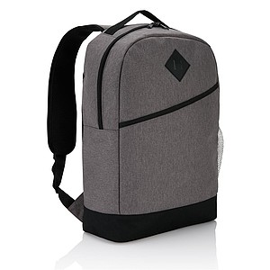 Batoh moderního střihu, polyester 600D, 18l, šedý