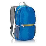 Skládací batoh, polyester 200D, 11l, modrý