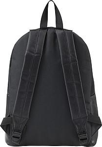 Černý polyesterový batoh