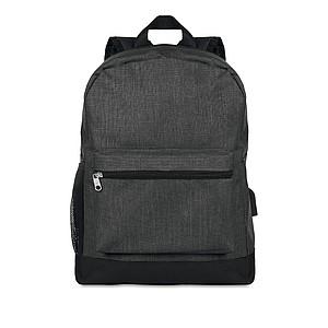 RATAGAN Bezpečnostní batoh na záda, černá