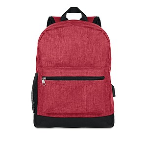 RATAGAN Bezpečnostní batoh na záda, červená