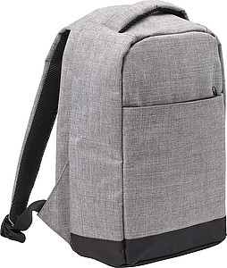 KEFUR Cestovní batoh se vstupem na USB, světle šedá