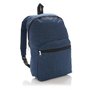 MIXAR Jednoduchý batoh s přední kapsou, námořní modrá